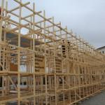 Jihlavu zdobily dřevěné monumenty nejen u kin a divadel, ale i na náměstí.